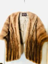 Stunning & Stylish Vintage Mink Stole ~ Cape ~ Silk Lined ~ from 1940's Real Fur
