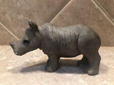 Sandicast 2006 Rhinoceros Figurine Marked Brue