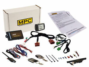2-Way LCD Remote Start Keyless Entry Kit For 2007-2013 Acura MDX - Plug-n-Play