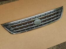 fits 2003-2004 TOYOTA AVALON Front Bumper Grille Gray & Chrome NEW