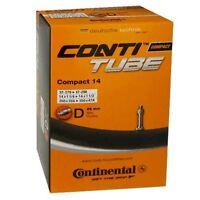 Continental Compact Fahrradschlauch für 14 Zoll (32-47/279-298) mit DV