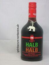Mampe Berlin Halb und Halb Kräuterlikör 31% mit dem Elefanten Seit 1852