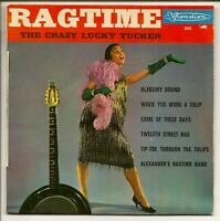 RAGTIME Vinyl 7' 45T EP THE CRAZY LUCKY TUCKER   RARE