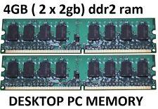 4GB 2 x 2GB DDR2 MEMORY desktop NON-ECC 667 Mhz DELL XPS 410 420 600 700 710 720