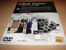 BOB DYLAN - DON'T LOOK BACK!!!!!!!!! PUBLICITE / ADVERT