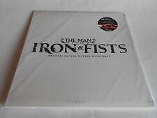 The Man With The Iron Fists Soundtrack Vinyl Ltd Edt 2 LPs Silk Screened NEW