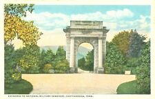 Chattanooga,TN. Entrance to the National Military Cemetery