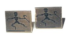 Dancing Block Man Cufflinks
