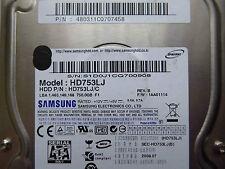 750 GB Samsung HD753LJ / 480311CQ707458 / 2008.07 / BF41-00206B REV5  disco duro