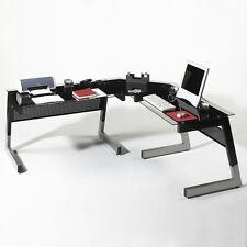 Eckschreibtisch schwarz  Schreibtische und Computermöbel aus Glas | eBay