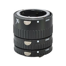XIT Pro Series Auto Macro Extension Tube Set for Nikon D7000 D5100 D3100