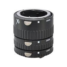 Xit Auto Focus Macro Extension Tube Set for Nikon SLR Cameras