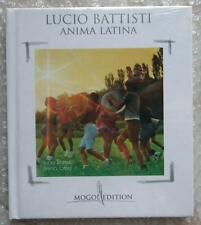 LUCIO BATTISTI ANIMA LATINA MOGOL EDITION CD LIBRO BOOK NUOVO NEW
