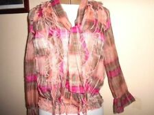 Career Long Sleeve Dry-clean Only 100% Silk Tops & Blouses for Women