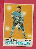 1970-71 OPC  # 94 PENGUINS BRYAN HEXTALL  CARD