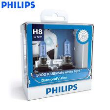 Philips H8 12360DVS2 12V 35W Diamond Vision Car Fog Lamps 5000K White Light 2X