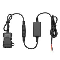 Moto Dual USB Chargeur Prise Socket Chargeur Adaptateur Supports Pour iPhone GPS