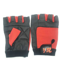 Leather Gloves Weight Lifting Bodybuilding Glove Workout Fitness Gym  Cycling