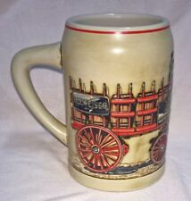 Budweiser Clydesdales Training Hitches Mug Stein Circa 1991