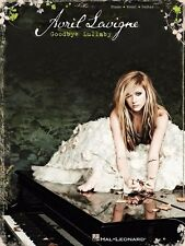 AVRIL LAVIGNE - Goodbye Lullaby Piano Vocal Guitar Book *NEW* Music Songs
