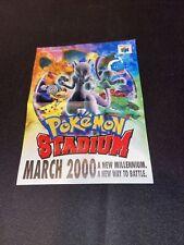 pokemon stadium n64 Insert