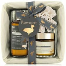 Baylis and Harding - Fuzzy Duck Black Pepper and Sage 3 Piece Wicker Basket Gift