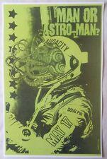 MAN OR ASTRO-MAN? 2013 Gig POSTER Portland Oregon Concert