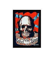 Rebel To The Bone Sew On Patch Biker NEW