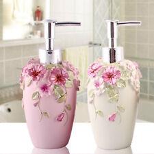 Resin Soap Shampoo Dispenser Bath Liquid Body Lotion Pump Bottle Jar VINTAGE