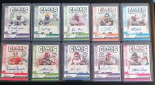 """2006 TOPPS DPP """"CLASS MARKS"""" ROOKIE AUTOGRAPH 10 CARDS ALL DIFFERENT AND *MINT*"""