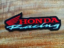 HONDA Racing HRC Sew Iron On Patch Embroidered Motorcycle Motor Sport Logo Badge