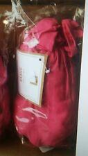 1 Pottery Barn Teen twisted sheer Drape 40 x 108 bright pink New