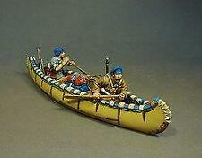 MF-07B - Two Militia in Canoe, Montreal Brigade - St Francis - John Jenkins