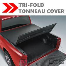Lock Tri-Fold Tonneau Tonno Cover FOR 2005-2014 TOYOTA TACOMA 5' Short Bed
