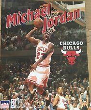 Michael Jordan White 16x20 Starline Poster OOP