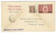1939 Canada Special Delivery FDC - E9 First Day Cover