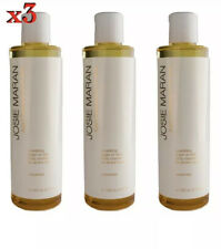 3 X Josie Maran Argan Cleansing Oil For Body Unscented 8.3oz Sealed New