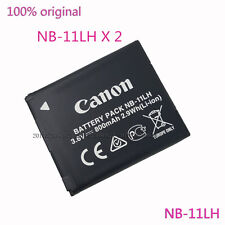 2X Genuine Original Canon NB-11LH Battery for NB-11L CB-2LDE CB-2LFE A4000 A3500