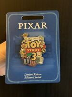 Toy Story 3 Legacy Pin – 10th Anniversary – Limited LR- Woody Buzz Ham Rex Slink