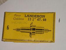 Landeron balance staff 47 48 51 248 inca axe de balancier Unruhwelle