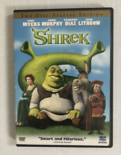 Shrek (Two-Disc Special Edition) Dvd 2001 - Complete w/insert - Us Seller