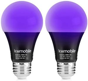 Black Light Bulbs E26 Led Ultraviolet Blacklight Uv Glow In The Dark Violet Neon