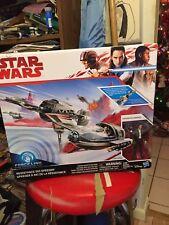 Star Wars Force Link Resistance Ski Speeder Captain Poe Dameron New!