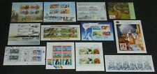 New listing New Zealand 1982-2013 47 diff. souvenir sheets Vf Nh face val Nz$98.51 =Us$68