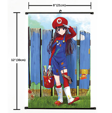 Hot Anime Super Mario Bros Wall Scroll Poster cosplay Gift 2288