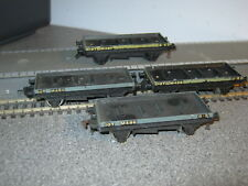 4 Hornby Dublo OO Gauge Empty Cable Reel Wagons