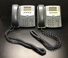 2 Cisco SPA508G Phones Telephones w/ Stands in EC!!