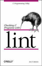 Checking C Programs with Lint (Nutshell Handbooks)-ExLibrary