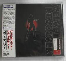 VELVET REVOLVER - Contraband JAPAN CD OBI BVCP-21370