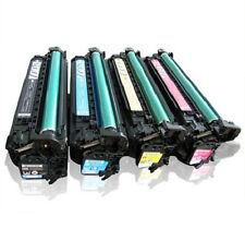 4 pack CE260A CE261A CE262A CE263A  Remanufactured Set HP CP4525dn CP4025 CM4540